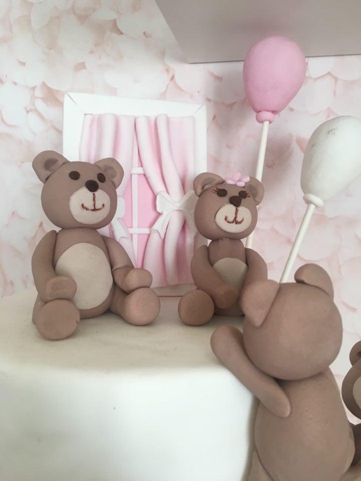 Τούρτα για κορίτσια Αρκουδάκια