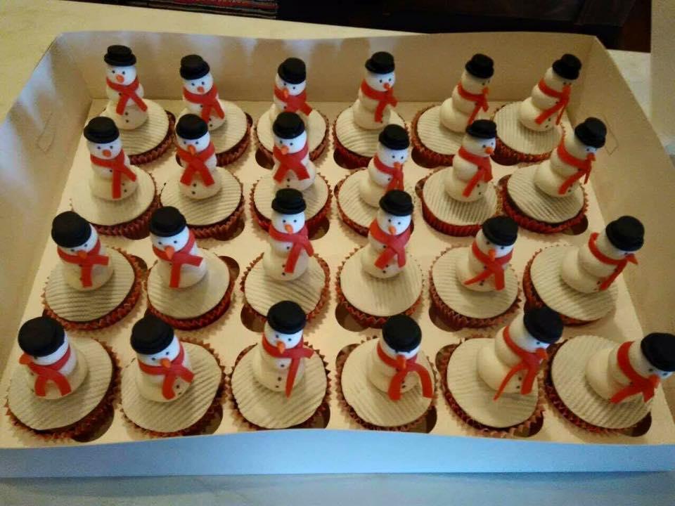 Χριστουγεννιάτικα Cup Cakes - Cake Pops
