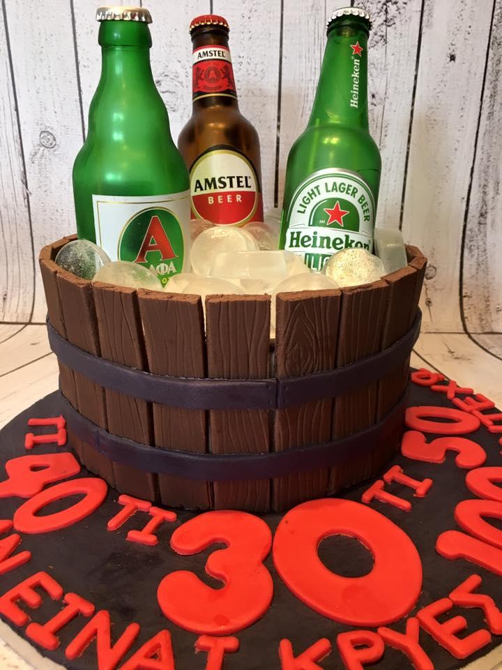 Βαρέλι με μπύρες