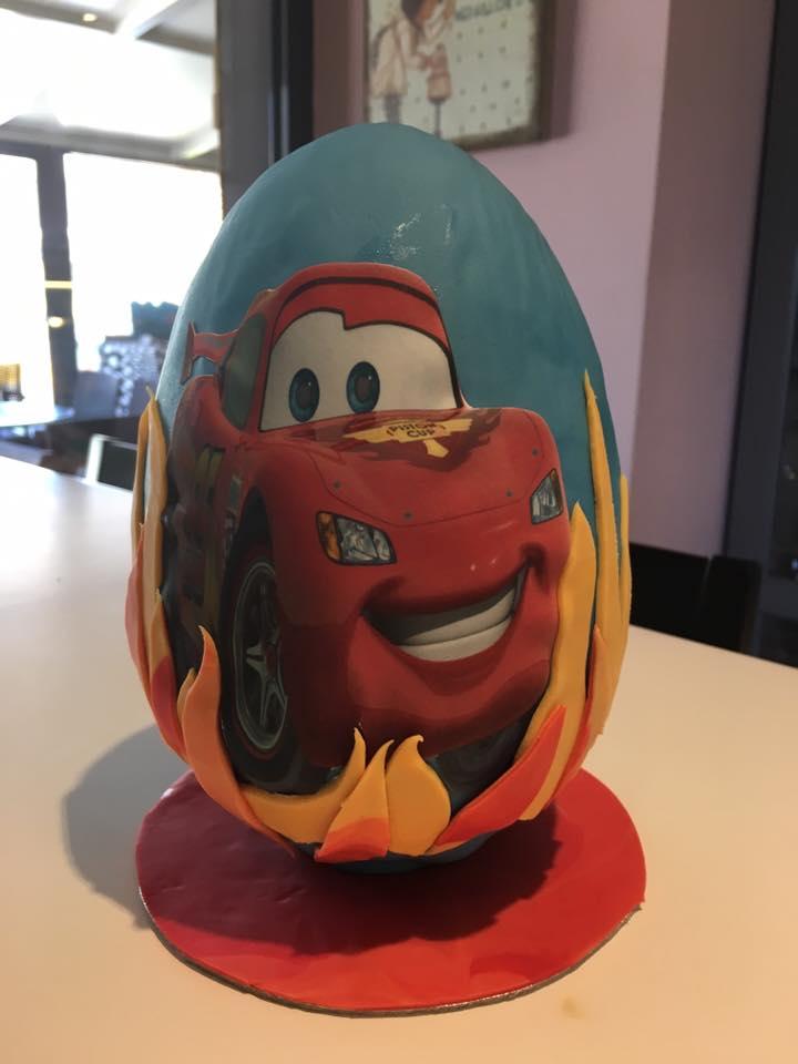 Αυγό Cars McQueen
