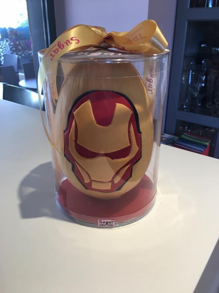 Αυγό Iron Man