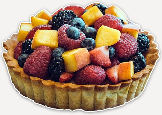 τούρτα φρούτων